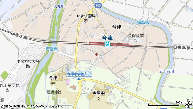 大分県中津市今津1082周辺の地図