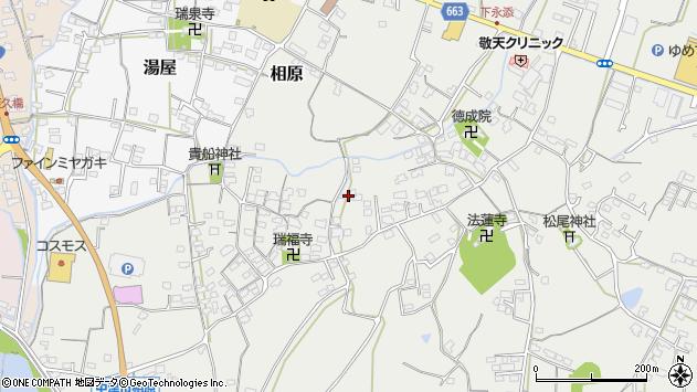 大分県中津市相原3575周辺の地図