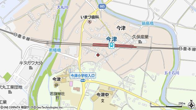 大分県中津市今津1083周辺の地図