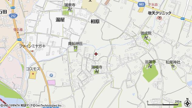 大分県中津市相原3695周辺の地図