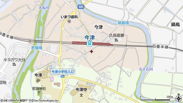 大分県中津市今津993周辺の地図