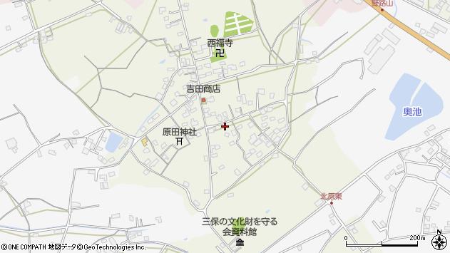 大分県中津市北原790周辺の地図