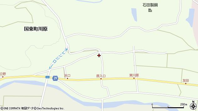 大分県国東市国東町川原437周辺の地図