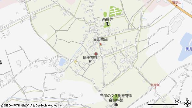 大分県中津市北原301周辺の地図