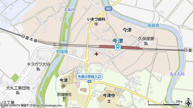大分県中津市今津1086周辺の地図