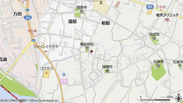 大分県中津市相原3669周辺の地図