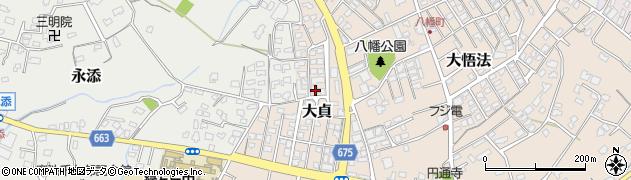 大分県中津市大貞361周辺の地図