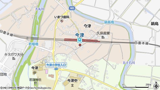 大分県中津市今津999周辺の地図