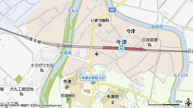 大分県中津市今津1097周辺の地図