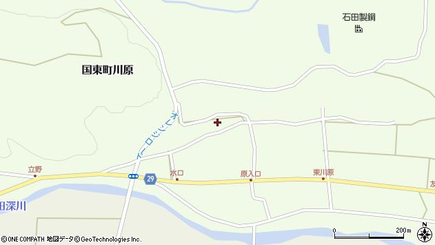 大分県国東市国東町川原1225周辺の地図