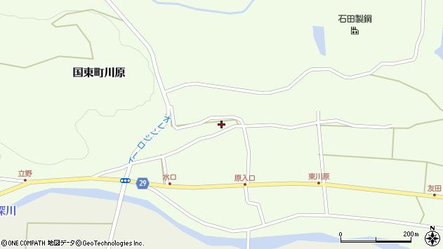 大分県国東市国東町川原1217周辺の地図