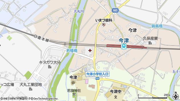 大分県中津市今津1101周辺の地図