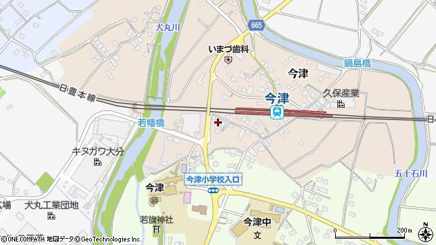 大分県中津市今津1098周辺の地図