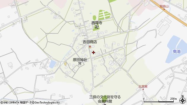 大分県中津市北原297周辺の地図