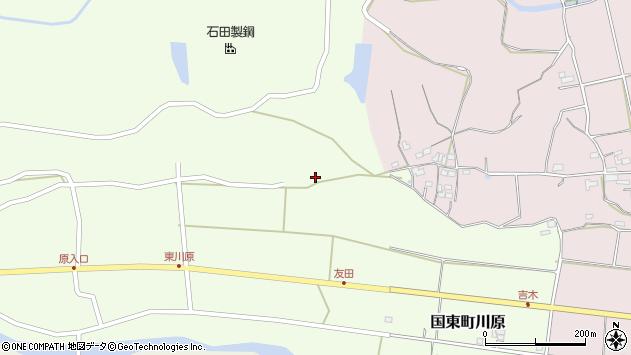 大分県国東市国東町川原1128周辺の地図