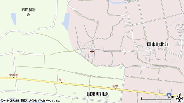 大分県国東市国東町北江521周辺の地図