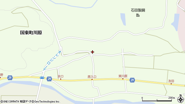 大分県国東市国東町川原1205周辺の地図