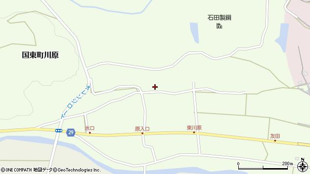 大分県国東市国東町川原1197周辺の地図