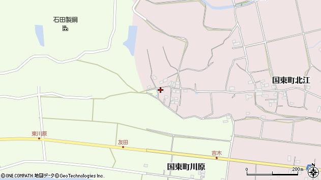大分県国東市国東町北江500周辺の地図