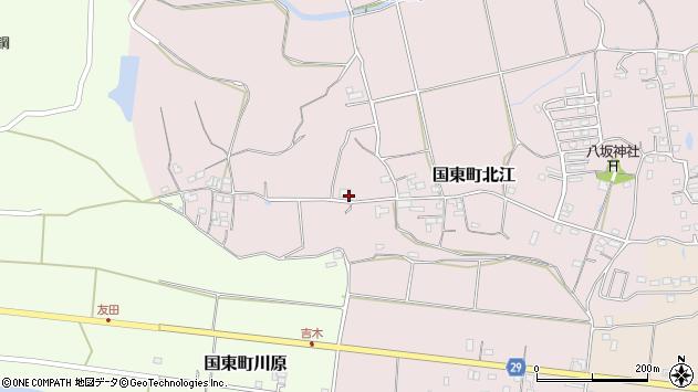 大分県国東市国東町北江631周辺の地図