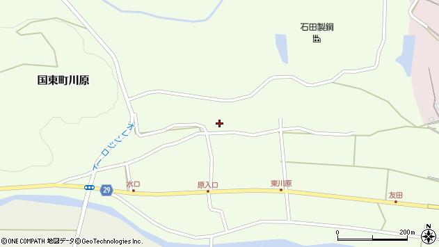 大分県国東市国東町川原1198周辺の地図