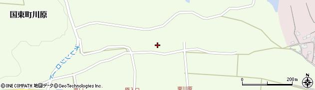 大分県国東市国東町川原1188周辺の地図