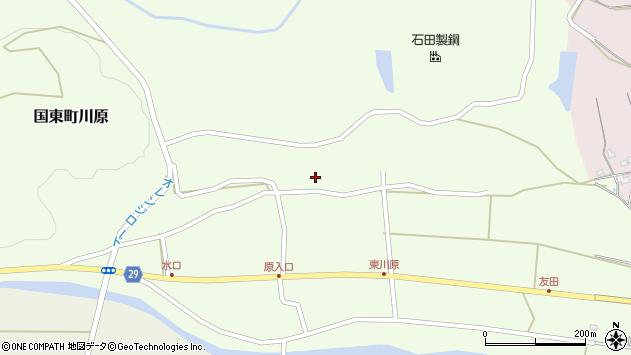 大分県国東市国東町川原1192周辺の地図