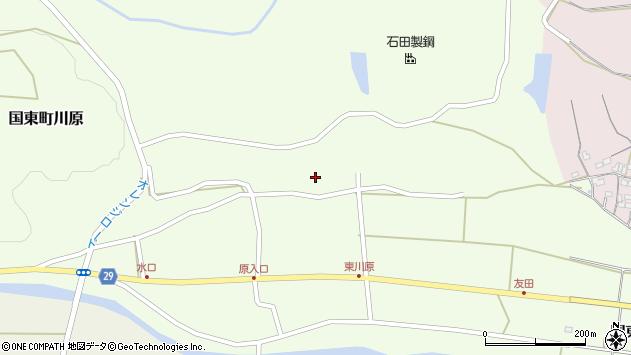 大分県国東市国東町川原1184周辺の地図