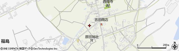 大分県中津市北原411周辺の地図