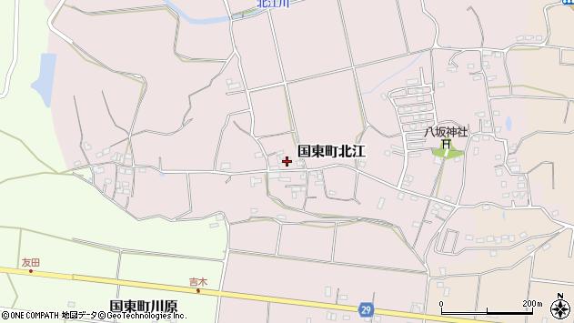 大分県国東市国東町北江685周辺の地図