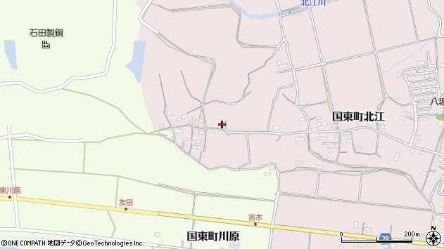 大分県国東市国東町北江547周辺の地図