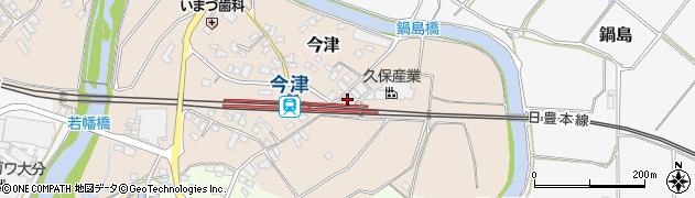 大分県中津市今津974周辺の地図