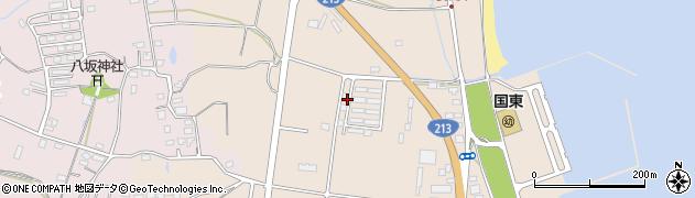 大分県国東市国東町田深1024周辺の地図