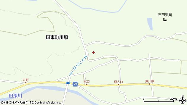 大分県国東市国東町川原1369周辺の地図