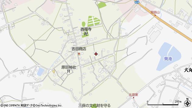 大分県中津市北原774周辺の地図