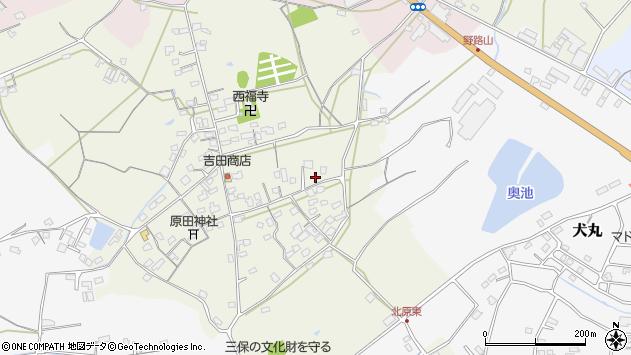 大分県中津市北原766周辺の地図