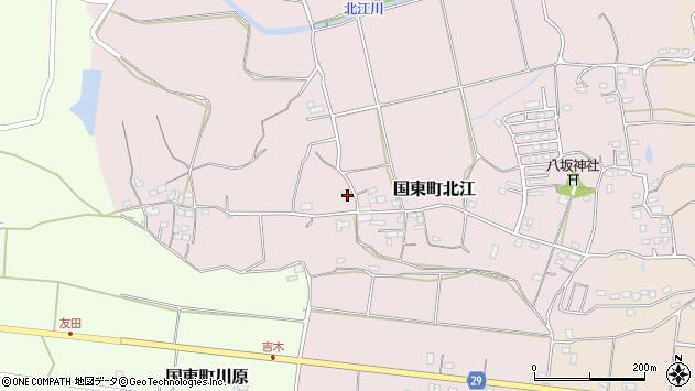 大分県国東市国東町北江643周辺の地図