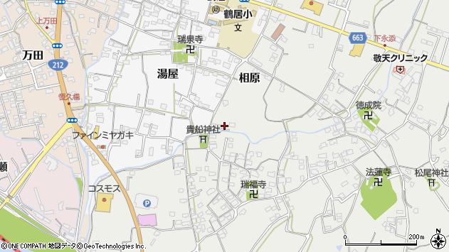大分県中津市相原3707周辺の地図