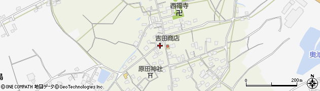 大分県中津市北原399周辺の地図