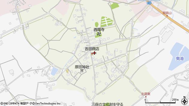 大分県中津市北原716周辺の地図