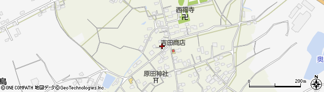 大分県中津市北原400周辺の地図