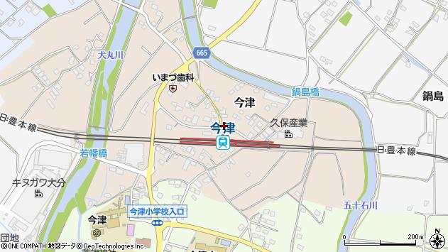 大分県中津市今津1004周辺の地図