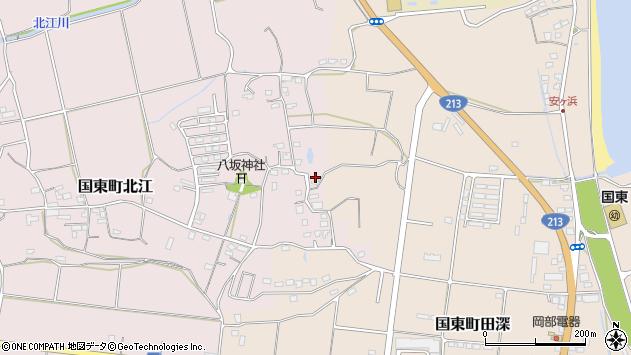 大分県国東市国東町北江1011周辺の地図
