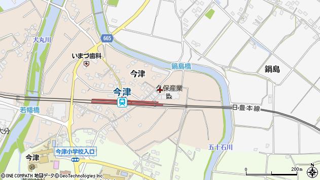 大分県中津市今津975周辺の地図