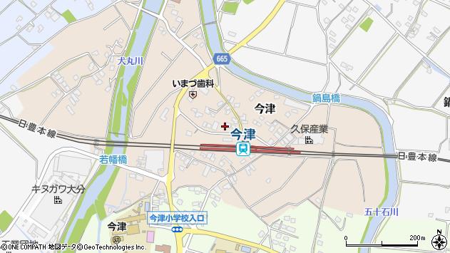 大分県中津市今津1015周辺の地図