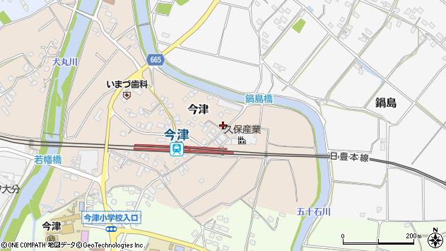 大分県中津市今津988周辺の地図
