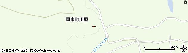 大分県国東市国東町川原1383周辺の地図
