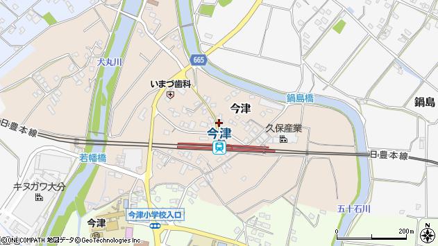 大分県中津市今津1012周辺の地図