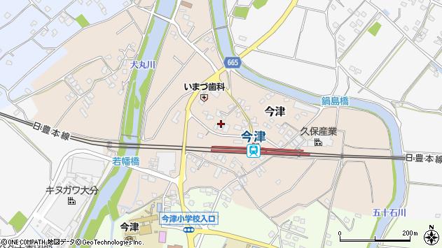 大分県中津市今津1031周辺の地図
