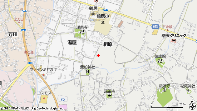 大分県中津市相原3709周辺の地図